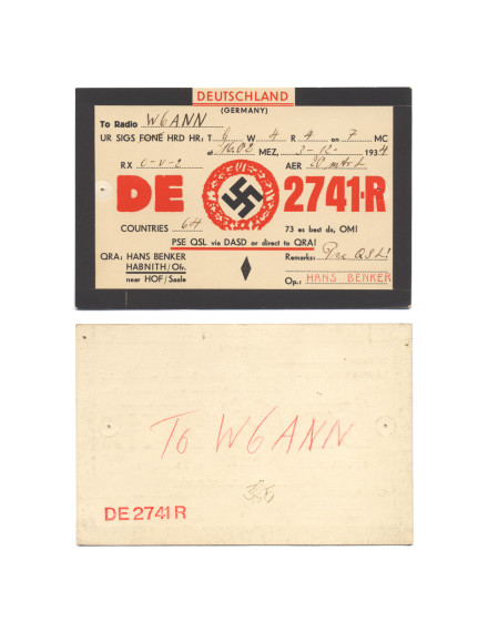 Cindy Bernard, DE 2741-R, December 3, 1934 Deutschland today: Federal Republic of Germany (disestablishment 1945), 7 of 115 parts
