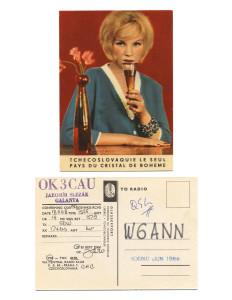 Cindy Bernard, OK3CAU, November 18, 1968 Czechoslovakia today: Slovakia (independent 1993) 90 of 115 parts