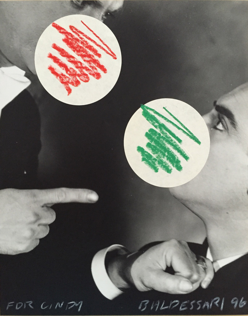 For Cindy by John Baldessari, 1996