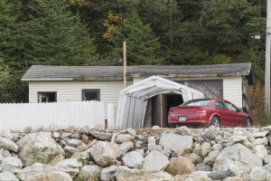 Cindy Bernard, Structure 11/26, Beaches, Newfoundland, 2013/2014