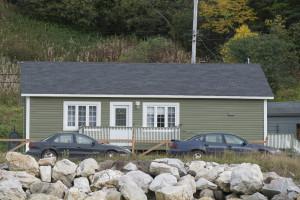 Cindy Bernard, Structure 4/26, Beaches, Newfoundland, 2013/2014