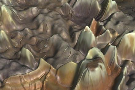 Cindy Bernard, Topography: Dry Head Agate #9 (Detail 1). 1995