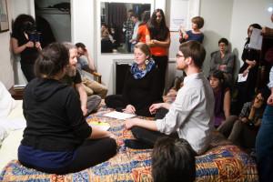 Welcome Inn Time Machine, Cindy Bernard, Producer and co-curator for SASSAS
