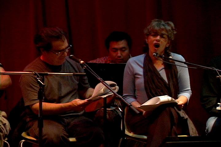 Cindy Bernard and David Hatcher, The Inquisitive Musician, Tonic Performance, November 8, 2005