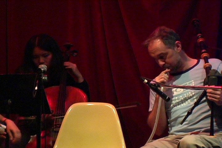 Cindy Bernard and David Hatcher, The Inquisitive Musician, Tonic Performance, November 8, 2005
