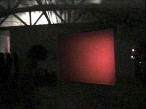 Cindy Bernard and Joseph Hammer, projections+sound, Sonopticon 99, organized by the Foundation for Art Resources, 1999
