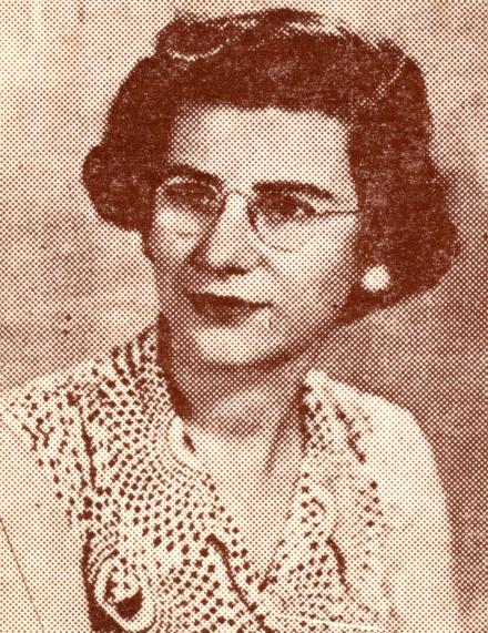 Cindy Bernard, CR7LU, Lucia Santos Tomé Beira, Mozambique, 1953 Active, 1952 to date