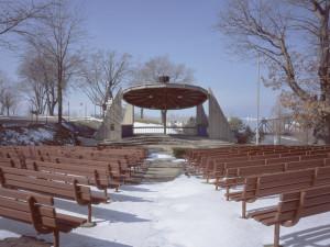 Cindy Bernard, John E. N. Howard Bandshell (City of St. Joseph, 1970) St. Joseph, Michigan, 2004
