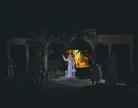 Cindy Bernard, Location Proposal #2: Shot 12, Desert Christ Park, Yucca Valley, March 1999
