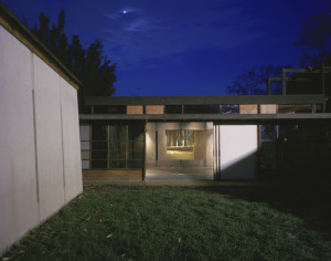 Cindy Bernard, Location Proposal #2: Shot 17, MAK Center for Art and Architecture at the Schindler House, February 2000