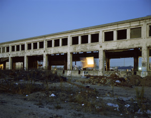 Cindy Bernard, Location Proposal #2: Shot 9, Santa Fe Building, January 2001