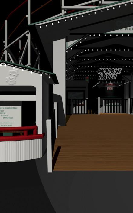 Cindy Bernard, Location Proposal #4: Amusement Park