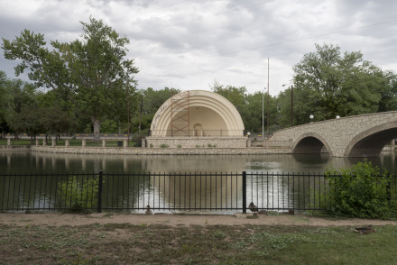 Cindy Bernard, Mineral Park Palace Park Bandshell (Works Progress Administration, 1938), Pueblo, Colorado, 2013