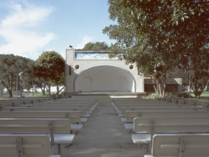Cindy Bernard, Pt. Fermin Park Bandshell (funding and construction date unknown) San Pedro, California, 2004