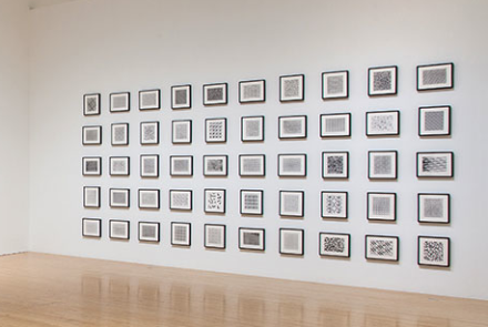 CIndy Bernard, Security Envelopes installed at MOCA
