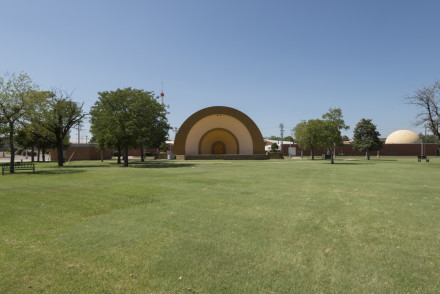 Cindy Bernard, State Fair Park Bandshell (funder unknown), Oklahoma City, Oklahoma, 2013