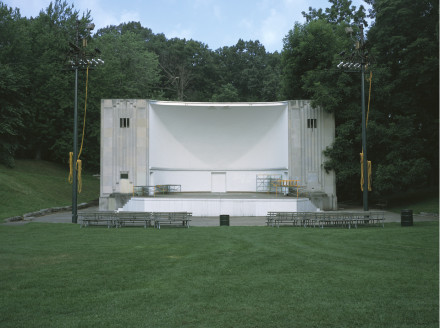 Cindy Bernard, The John Dunbar Music Pavilion aka the Highland Bowl ( Funder unknown, 1937 ) Rochester, New York, 2005