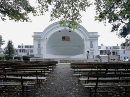 Cindy Bernard, West Park Bandshell, (General Harry C. Trexler, 1908) Allentown, Pennsylvania, 2005