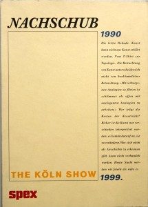 The Koln Show catalogue