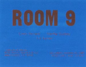 Room 9 Announcement Card