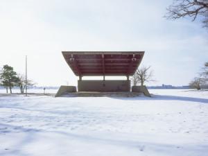 Cindy Bernard, Dennis F. Smith Amphitheater (La Porte Park and Recreation Board, 1987) La Porte, Indiana