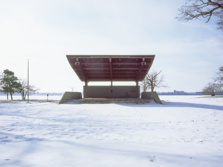 Cindy Bernard, Dennis F. Smith Amphitheater (La Porte Park and Recreation Board, 1987) La Porte, Indiana