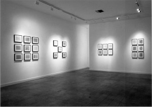 Cindy Bernard, Security Envelope Installation view, Michael Kohn Gallery, May 1988