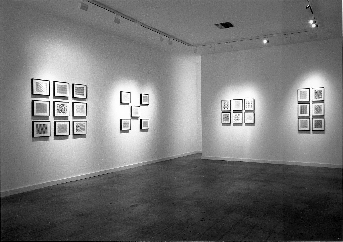 Cindy Bernard, Security Envelope Installation view, Michael Kohn Gallery, May 1988