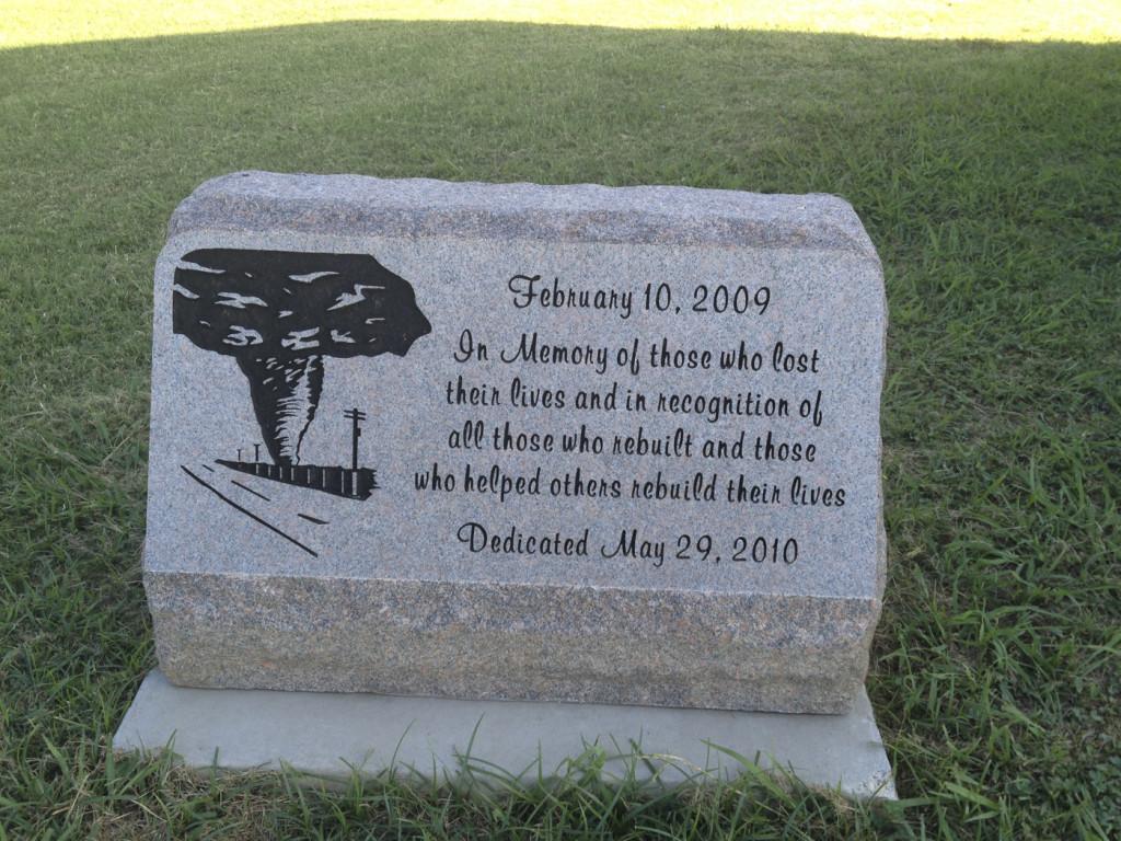 Lone Grove Tornado Memorial, Oklahoma