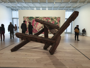 Mark di Suvero, Lee Krasner, Whitney Museum Install view