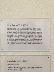 Alvin Baltrop, New York Gallery Crawl, November 2015