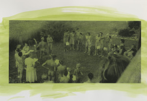 Cindy Bernard, Your Personal View of (Social) Nudism, Episode 1957, Bucks-kin, Portfolio of 23 works