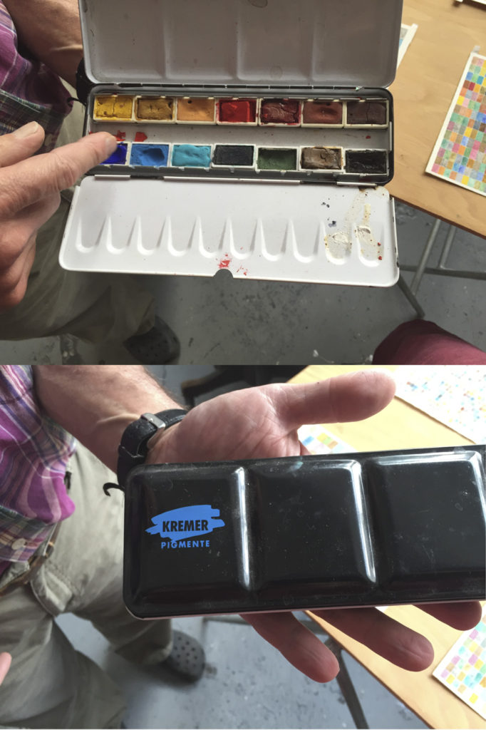 Howard's Kremer watercolor box