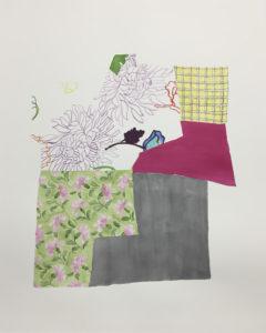 Cindy Bernard, Panels 29, 30, 40, 44, 45 (Gladys Osmond, Beaches, Newfoundland, 2013)
