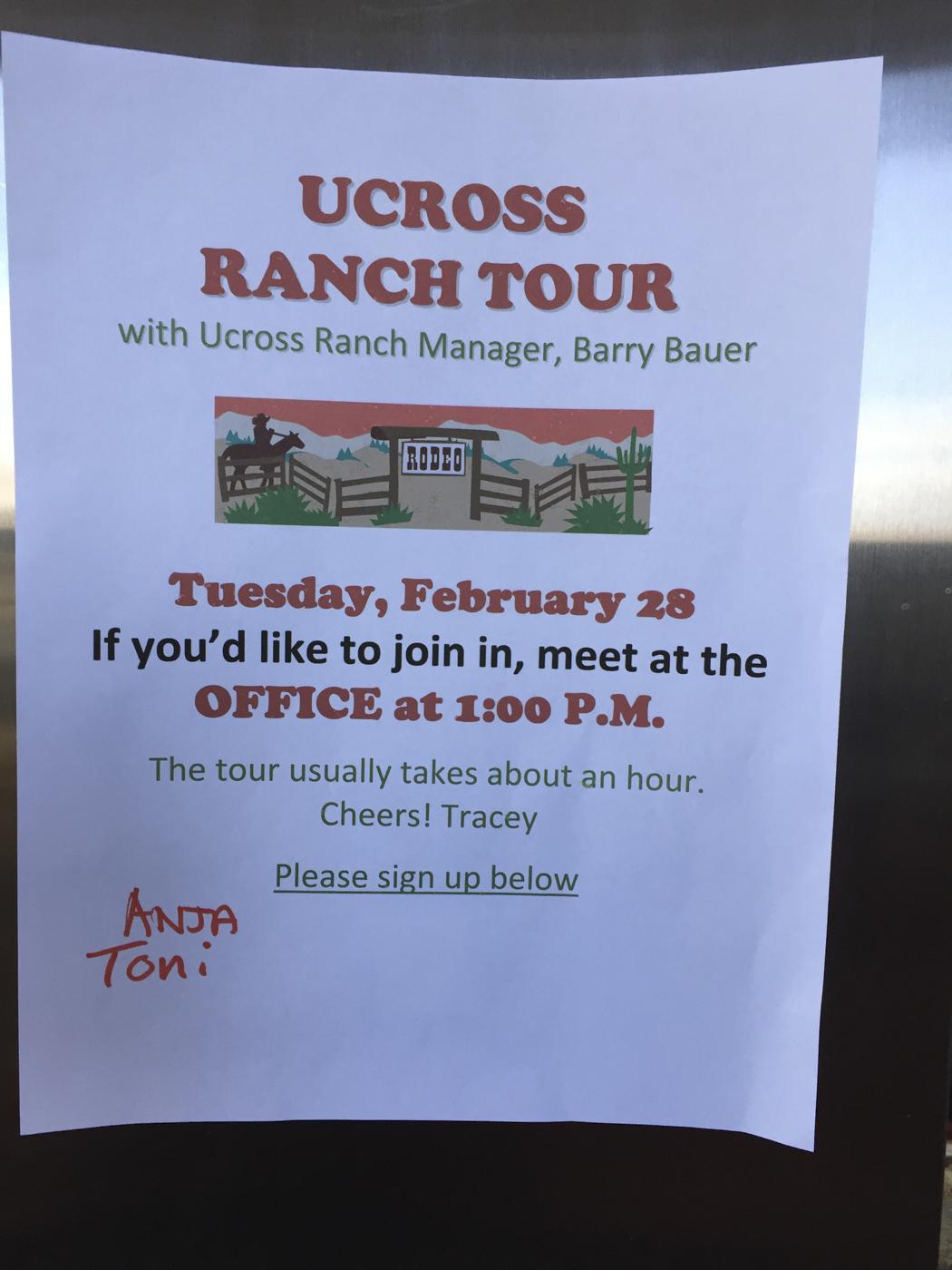 Cindy Bernard, UCross Residency, February/March 2017